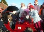 Látogatóban a nagykarácsonyi Mikulásnál