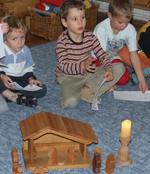 Adventi előkészületek az óvodában