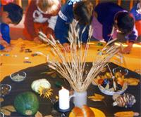Az aratás hálaünnepe a Nardini óvodában