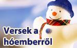 Versek a hóemberről, havazásról