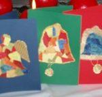 Karácsonyi képeslapok házilag