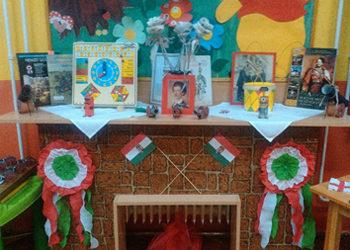 Nemzeti ünnepünk megünneplése a Micimackó csoportban