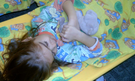 Délutáni pihenő – óvodáskorban