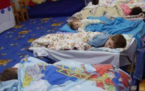 óvodai alvás