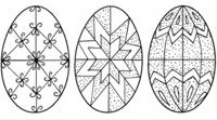 Nyomtatható húsvéti tojásmotívumok