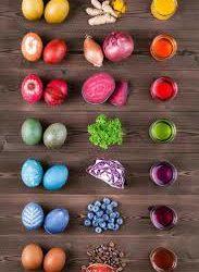 Húsvéti tojásfestés – természetesen